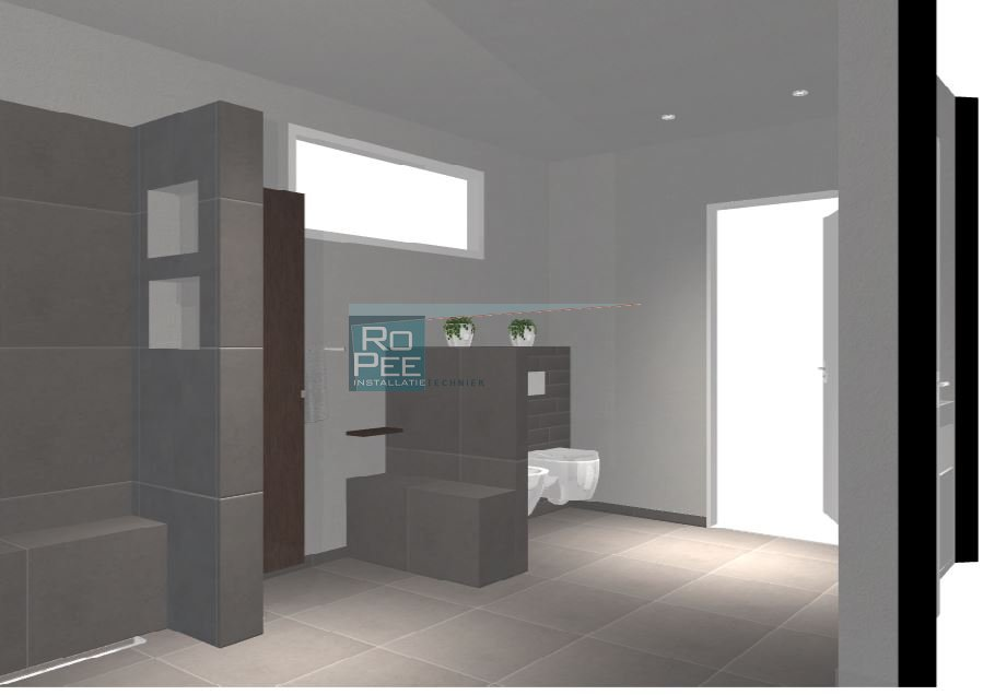 Tekening Badkamer Maken : Sanitair installatie techniek luxe en eenvoudige badkamers